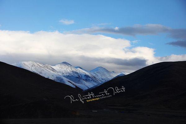 藏雪山风景高清壁纸