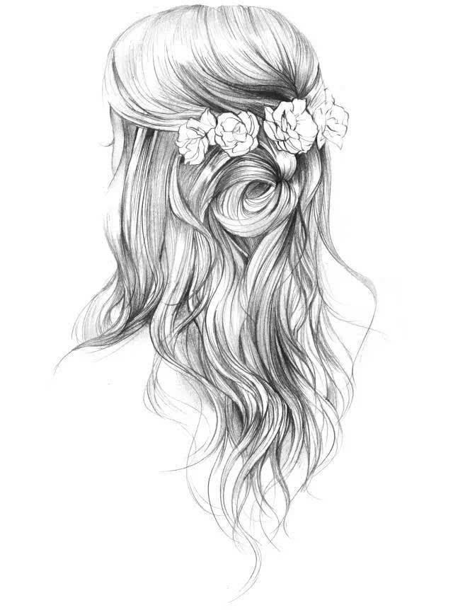 摩羯座专属的手绘唯美发型