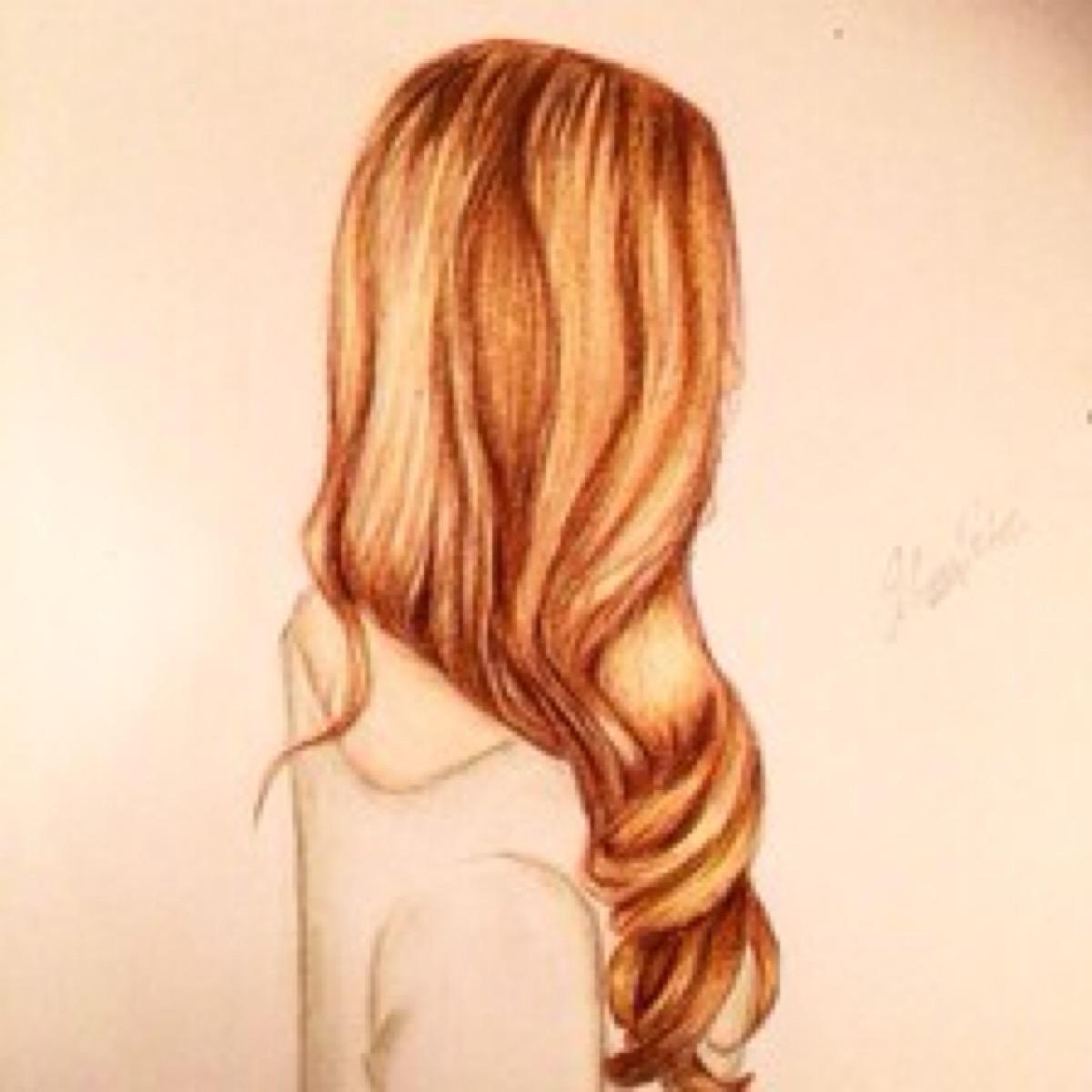 巨蟹座专属的手绘唯美发型图片