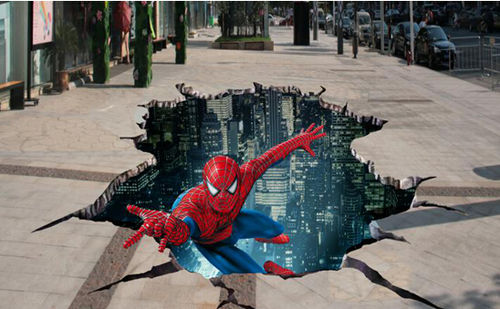 令人震撼的3d立体画,是怎么画出来的?