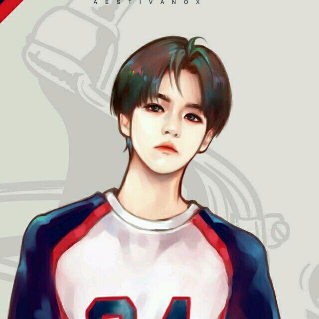 求exo的一套手绘图,手绘的衣服是love me right时期的