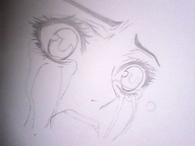 好看的简单画的动漫人物图片,最好市场铅笔画的