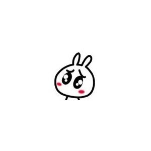 卖萌兔子可爱旳头像