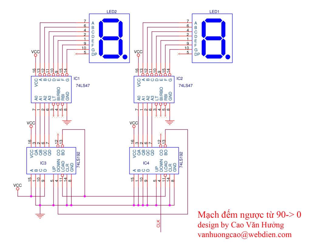 急求用74ls192芯片构成30秒倒计时电路图,数电实践课用,我不会啊,给个