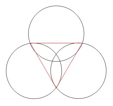 word中三个圆形组合的问题