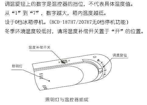 海信冰箱bcd205ag7温控器接线图