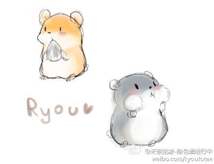 求一张萌萌哒卡通老鼠的图片