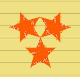 追答 像图上的那样,找到一个三个星星的交点 再按常规画五角星的那种图片