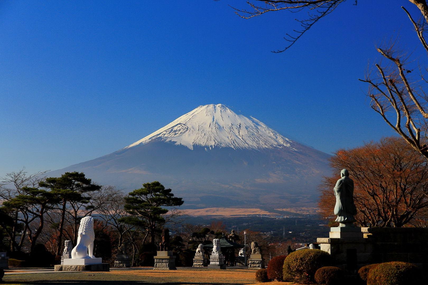 日本的图片最雄伟的风景处
