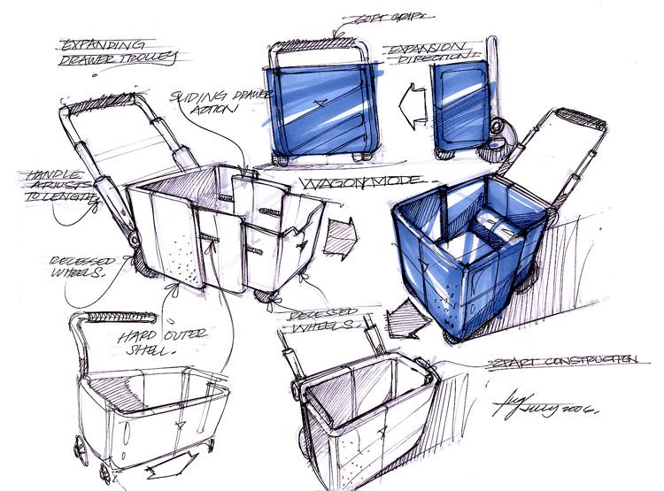2014校考美术工业产品设计阴影怎么画