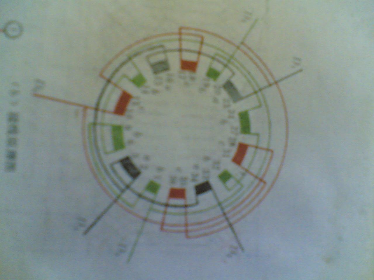 双速电机4/6极36槽4y/3y接线图.