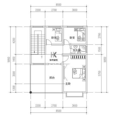 房子设计图 门窗怎样表示 要图片