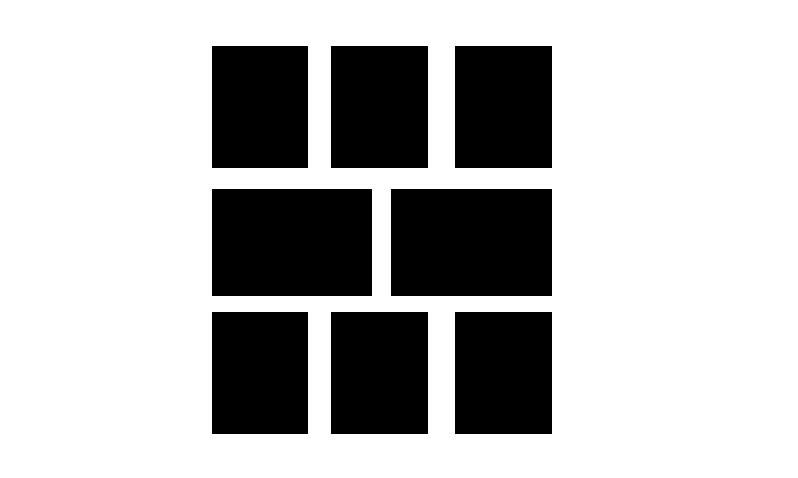 7寸照片俩横的,六个竖的怎么摆照片墙