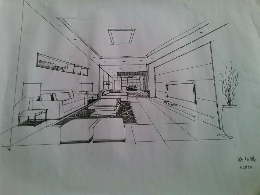 要图片!怎么能把厨房加客厅弄在一起整得漂亮点!求高手