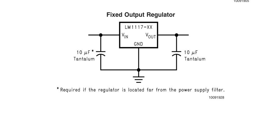 ams1117-3.3v稳压ic怎么接线啊