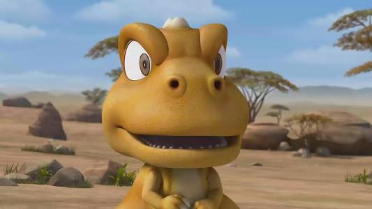 动画片小恐龙啊贡,后期出现的太阳蛋是什么?