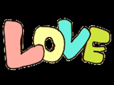 炫舞戒指自定义字图:love(透明底)