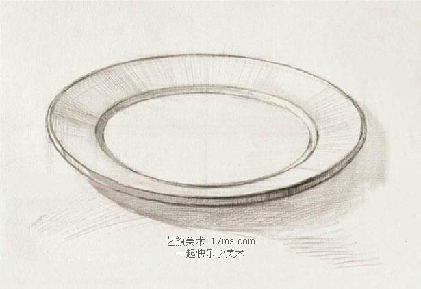黑白盘子设计图案简单