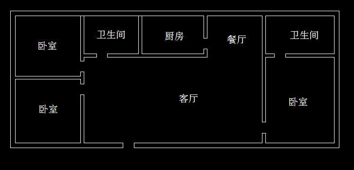 12乘11米的房子平面图
