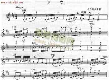 《卡农》长笛谱子!高分