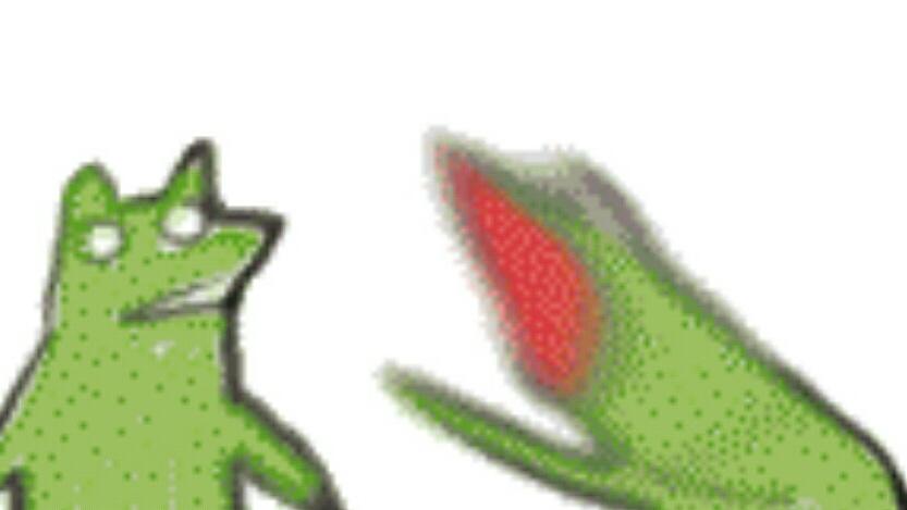 返山人 求这个抓狂小青蛙的表情包图片