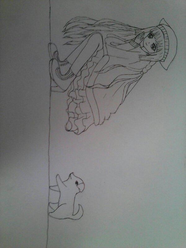 有人会手绘动漫画吗