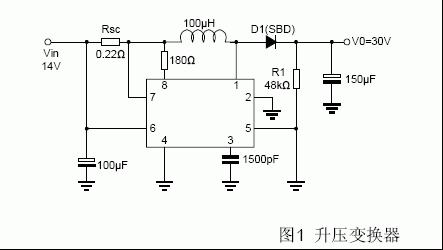 mc34063升压电路和什么有关