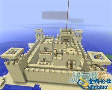 求几张我的世界手机版能造出的城堡设计图图片