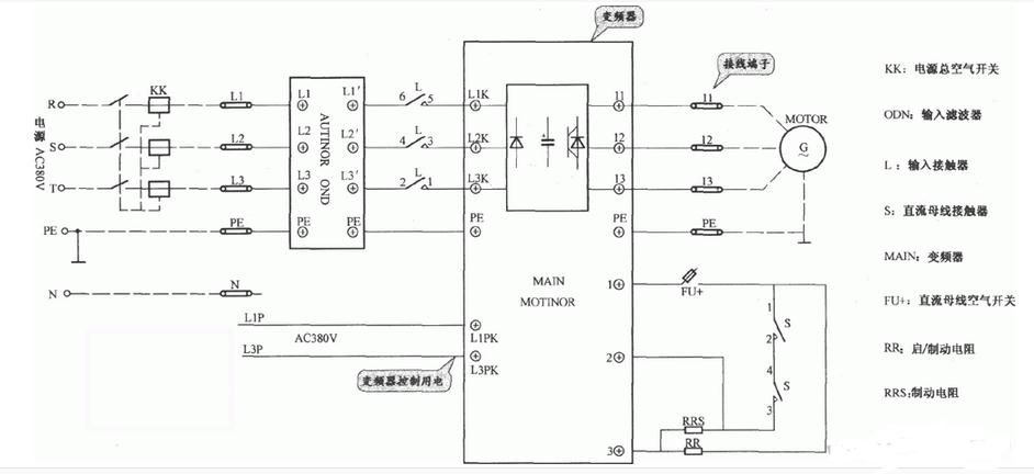 电梯电路图