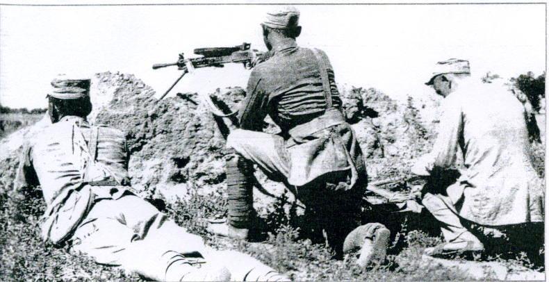 本人有个问题,我在一些解放战争的电影,电视剧中看到了有种轻机枪类似