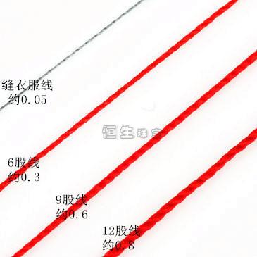 diy中国结编织手链的绳线要几号狼舞正品世界图片
