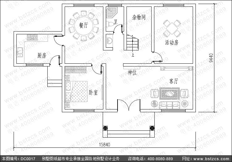 农村二层小楼,抗震防烈度为6,15x9的建筑面积,设有角柱,打地圈梁,二层
