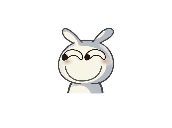 图片上这个兔子是什么表情包?它耳朵会动来动去