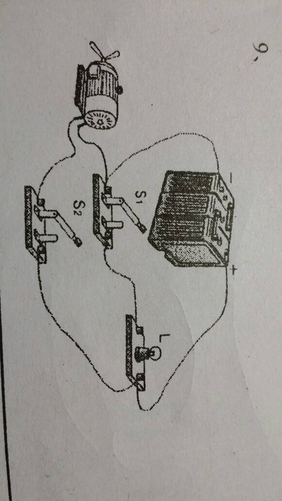 初三物理,电学,根据实物图画出电路图