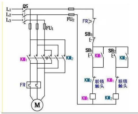 求助电工大神,这个接线图为什么行不通