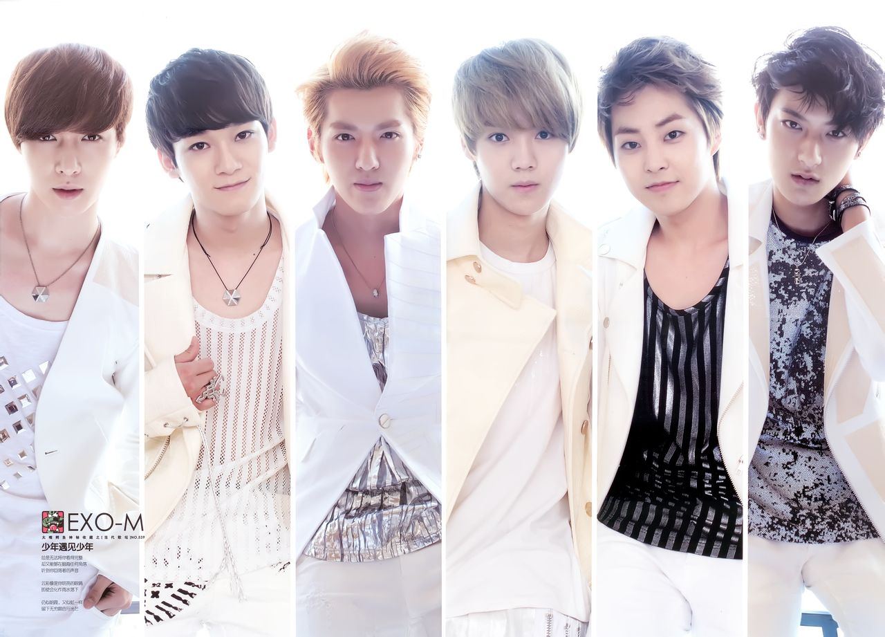 exo-m成员的资料