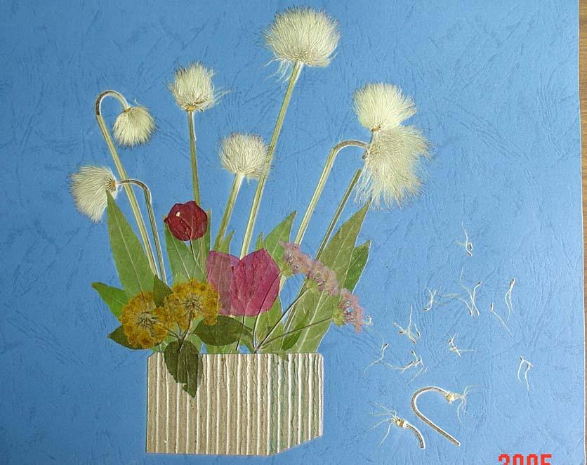 花瓣贴画步骤