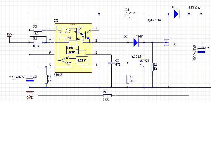 看图,r1 ,r6,d2,q2,为q1n沟道mos驱动电路,简单得来又稳定 2 5 已赞过