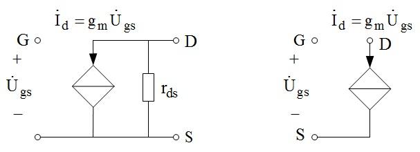场效应管的微变等效电路是怎样的?
