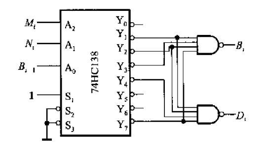 最简半减器逻辑电路图