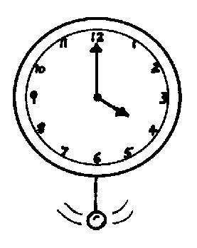 简笔画 时钟 手绘 线稿 钟表 277_348 竖版 竖屏