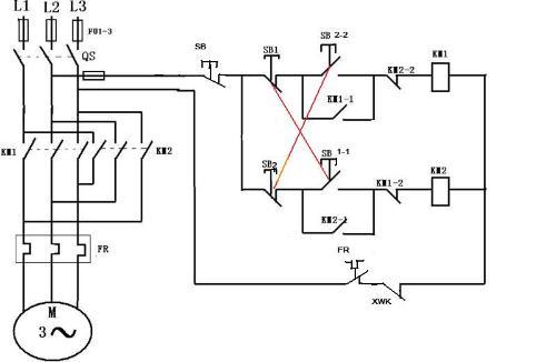 求一份机床电气控制原理图