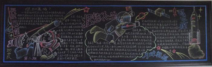 求小学黑板报创意设计图