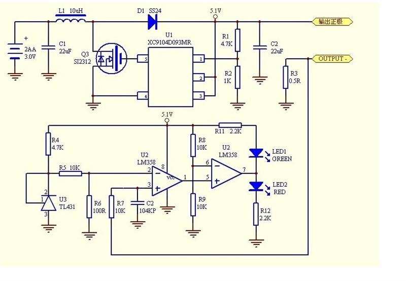 电路图分析,分析一下这个电路图的工作原理.