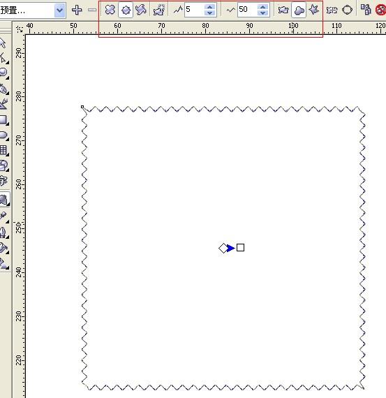 简单的边框画法