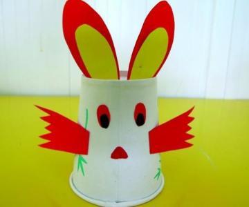 纸杯的手工制作动物图