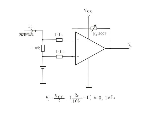 给你个参考测量电路假设电池电压充足时为:4.3vvcc应