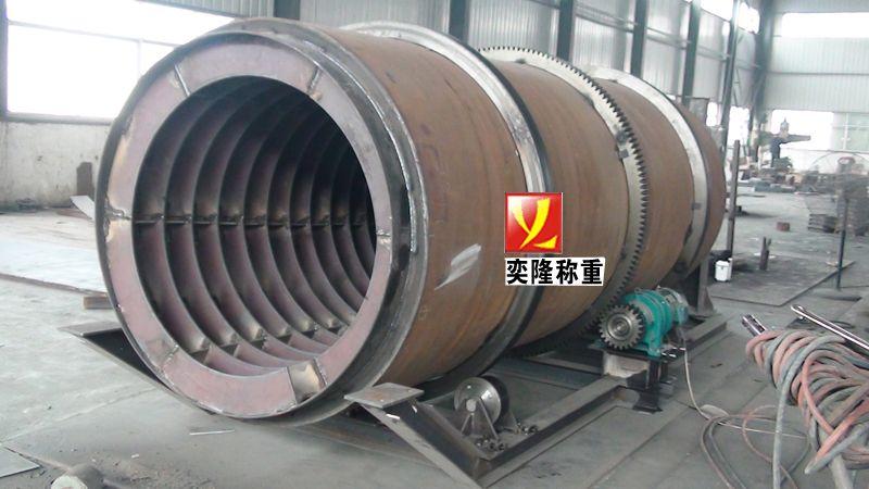 冷渣机_滚筒冷渣机内部结构图