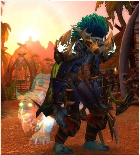 求魔兽世界巨魔男猎人幻化!