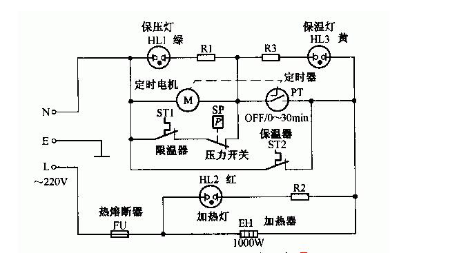 限重器接线电路图